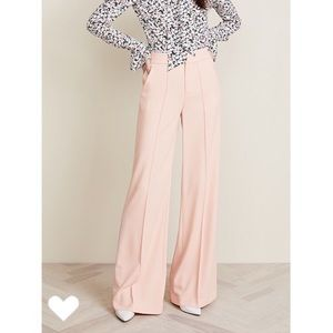 """Alice + Olivia """"Dylan High Waisted Wide Leg Pants"""""""